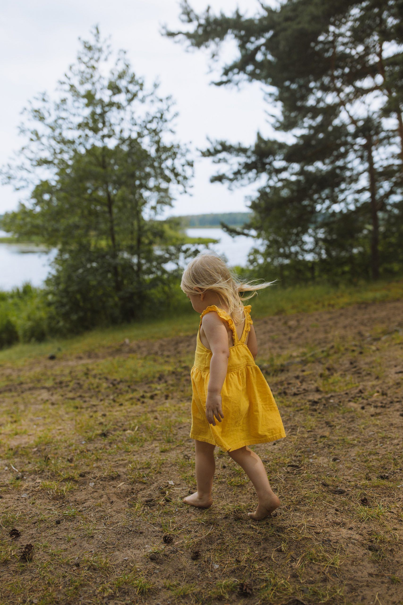 Seeing the world with the purity of a child equals peace