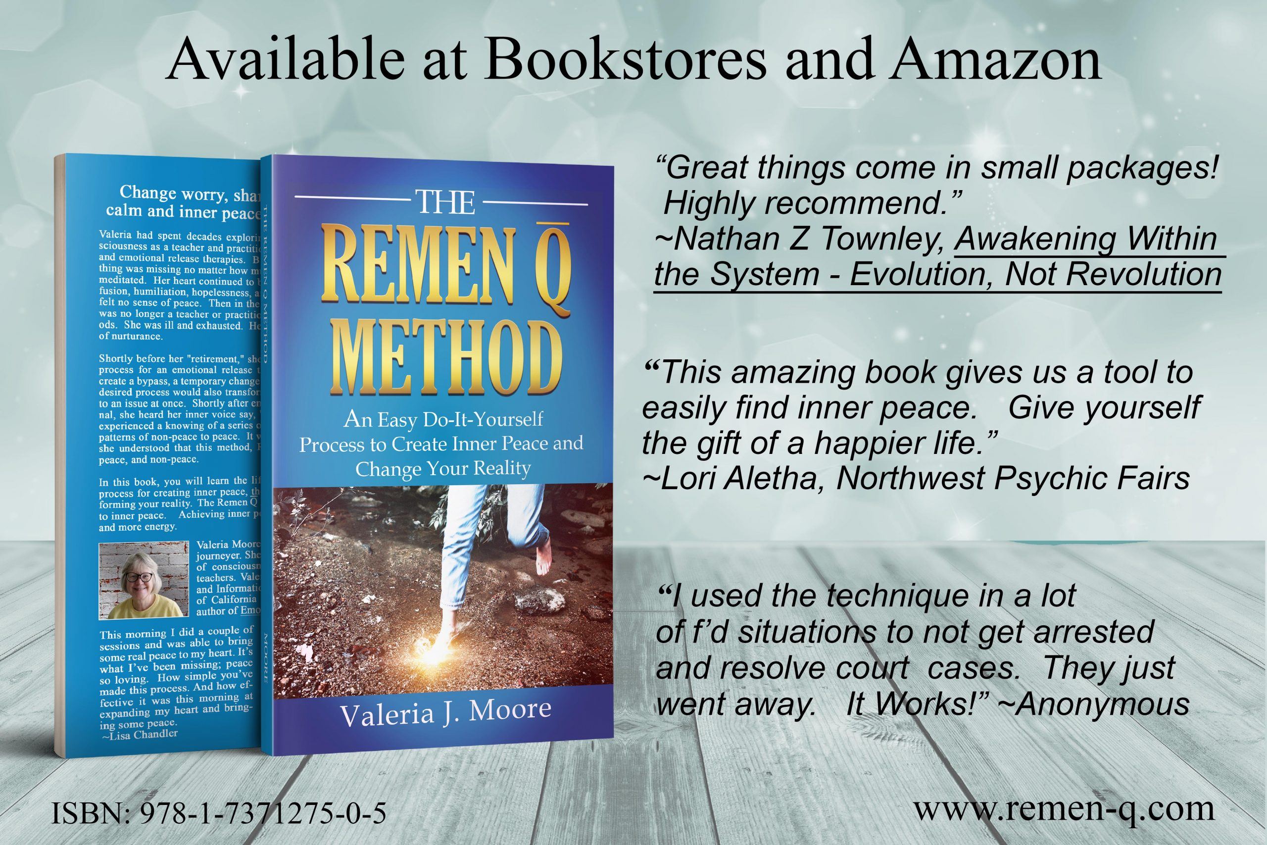 remen q book announcment in green copy
